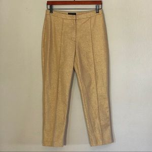 Gold high waisted pants